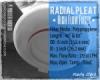 Radial Pleat High Flow PFI Filter Cartridge Indonesia  medium